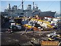SU6200 : Warship in HM Dockyard by Basher Eyre