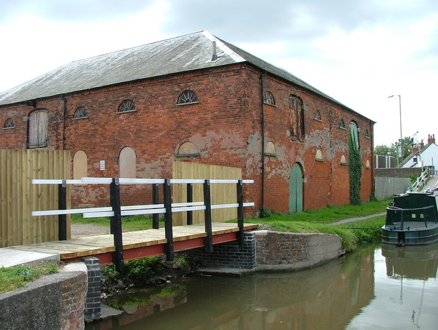 Former salt warehouse - Shardlow