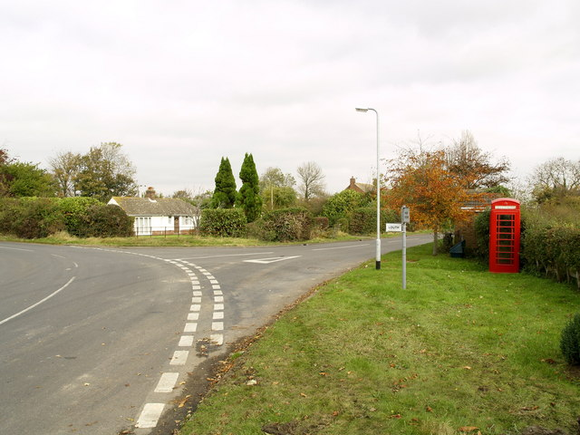 Road Junction near South Cockerington