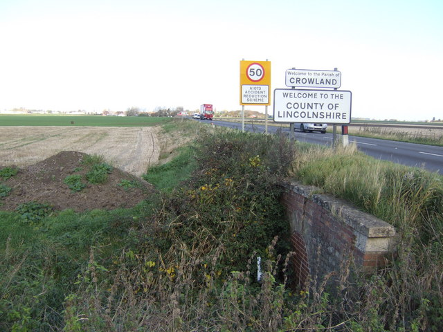 Entering Lincolnshire