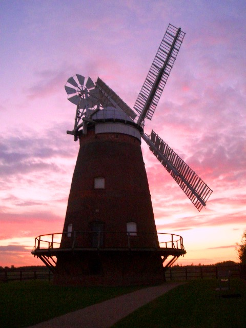 Sunset at John Webb's Windmill, Thaxted