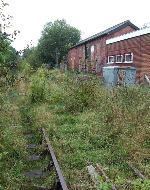 Endon Station (disused), Staffordshire
