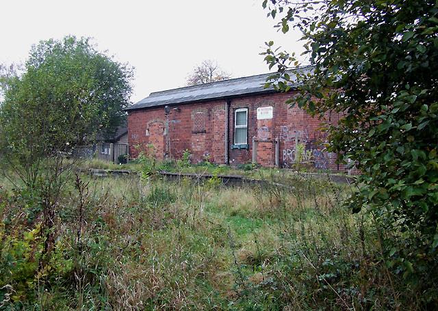 Endon Station (disused), Staffordshire