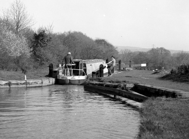 Bosley Lock No 9, Macclesfield Canal