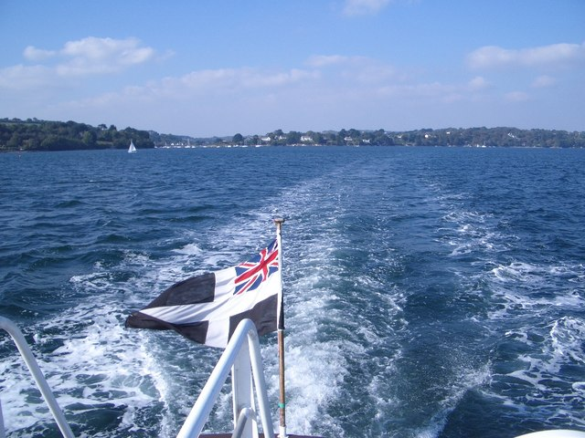 The Carrick Roads (West) in the Falmouth Estuary