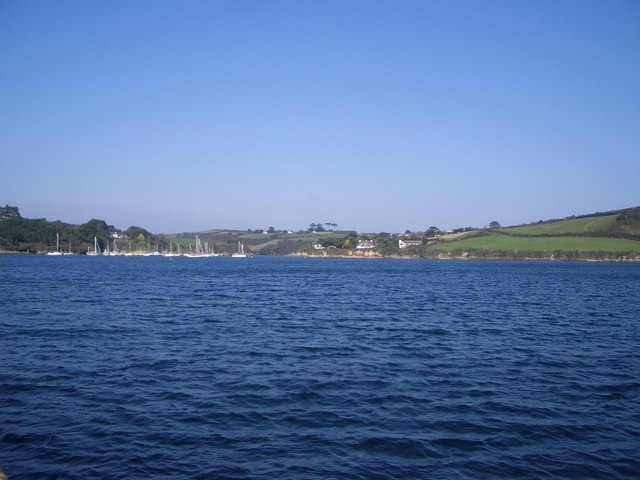 The Carrick Roads (East) in the Falmouth Estuary