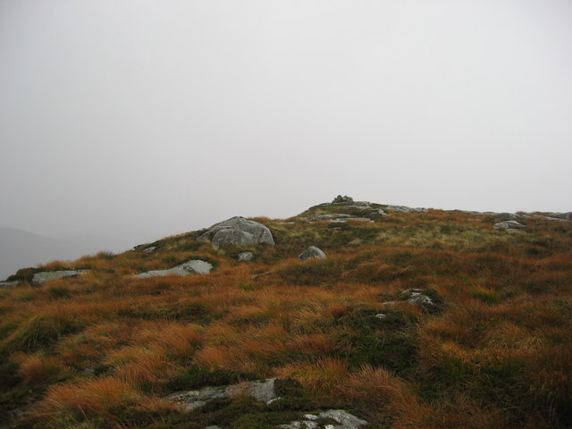 The top of Macaterick Hill