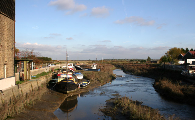 Low Tide at Battlesbridge