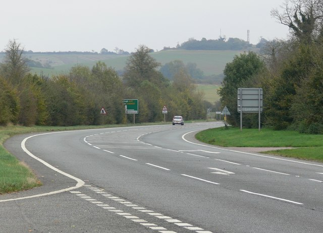 The A47 Uppingham Road,  Rutland