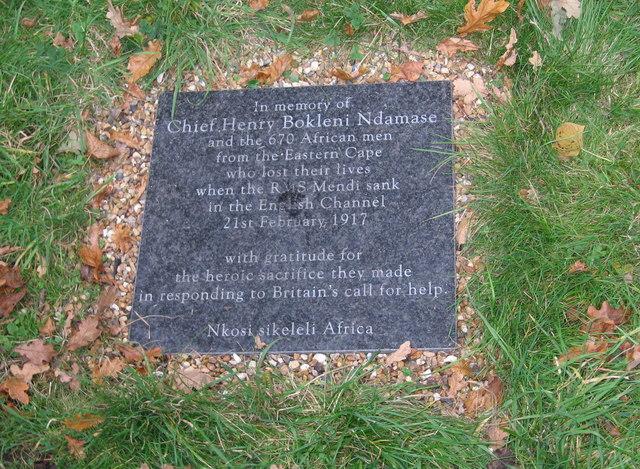 Memorial to Chief Henry Bokleni Ndamase