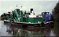 SO8169 : Steam ladder dredger John Bradley, Lincomb Lock, Stourport by Chris Allen