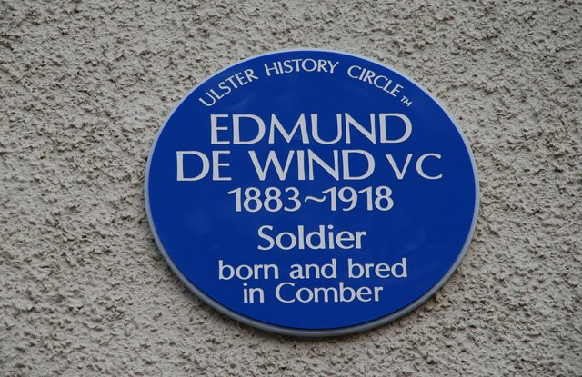 De Wind plaque, Comber