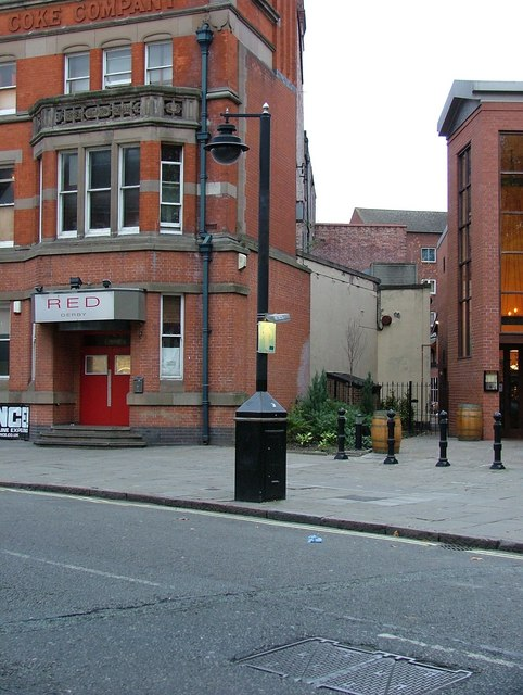 CCTV camera - Friar Gate, Derby