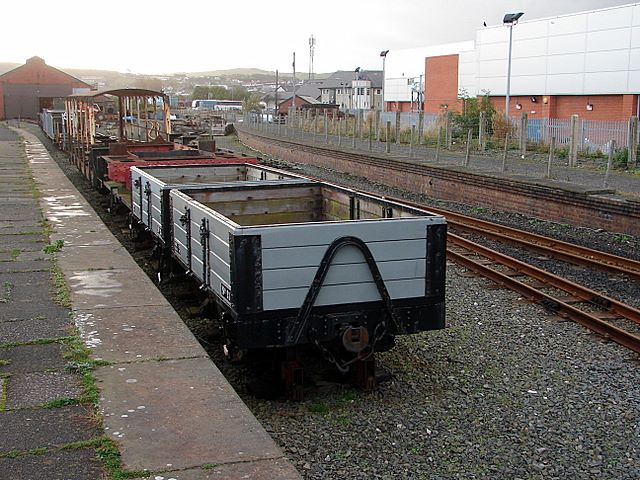 Vale of Rheidol Railway wagons