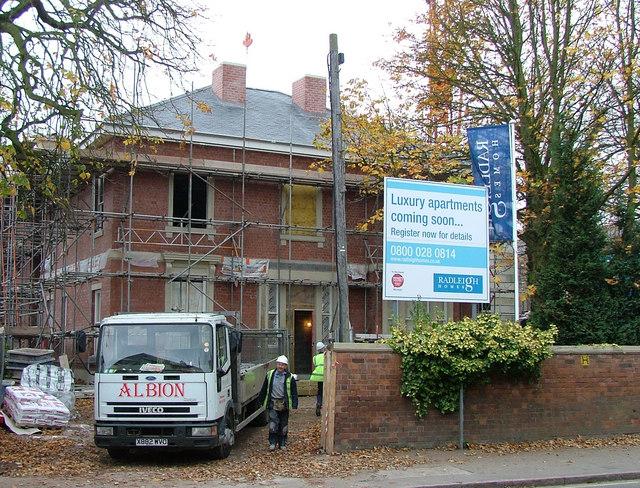Site of 55 Ashbourne Road, Derby