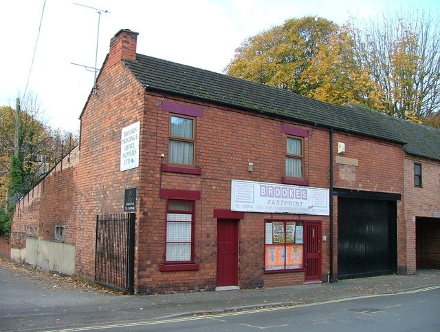 Old cottages - Mill Street, Derby
