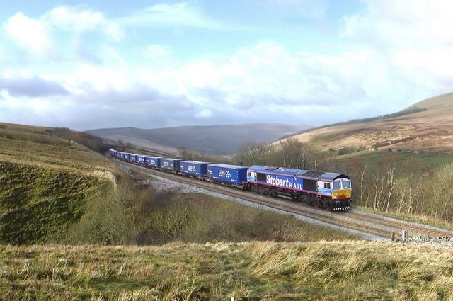 Railway above Garsdale