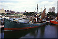 TQ3480 : Lydia Eva, St Katharine Docks by Chris Allen