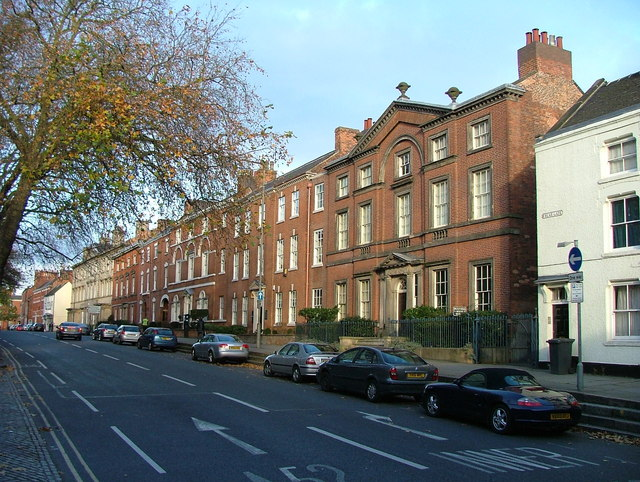 Georgian town houses - Friar Gate, Derby