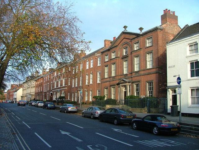 Georgian town houses - Friar Gate, Derby
