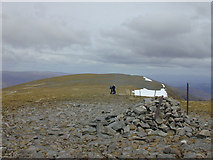NN4288 : The summit of Stob Poite Coire Ardair by Nigel Brown