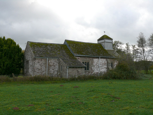 The Church of St James - Llangua, Monmouthshire