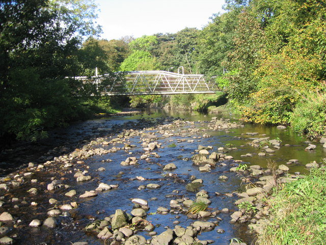 Footbridge, River Garnock