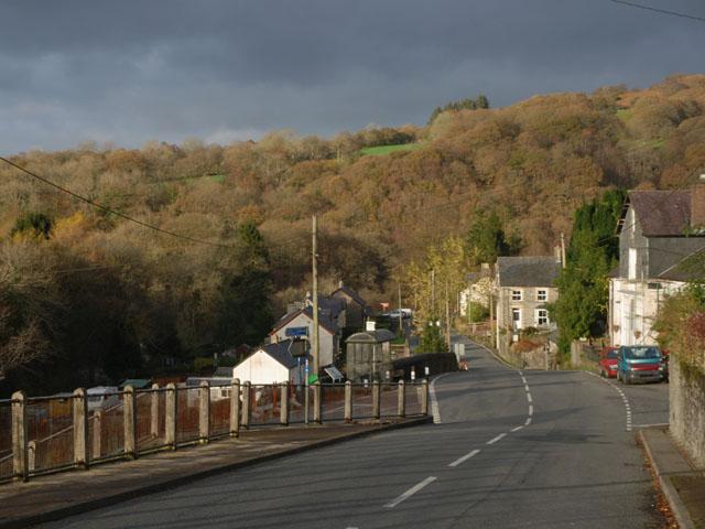 Main road, Pontrhydygroes