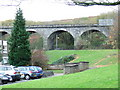 NS2875 : Disused railway viaduct by Thomas Nugent
