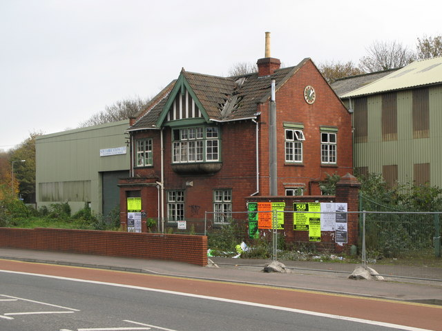 Derelict Office and Factory, Malago Road