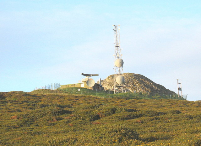 The Rhiw MOD radar station