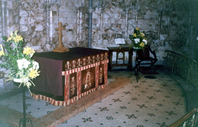 The Altar Or The Communion Table In The 169 P Flannagan