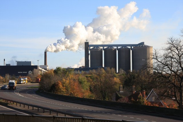 Sugar beet factory, Bury St Edmunds