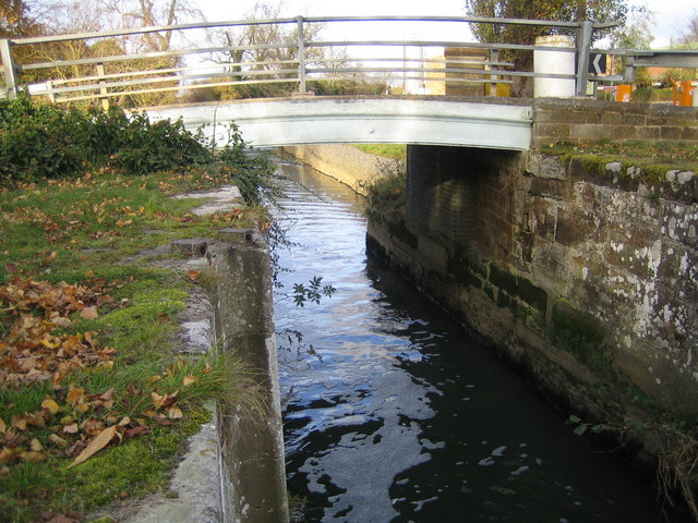 River Ivel Navigation old bridge at Holme
