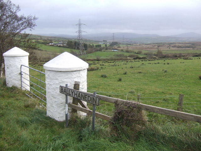View south-east from Ballyhanedin