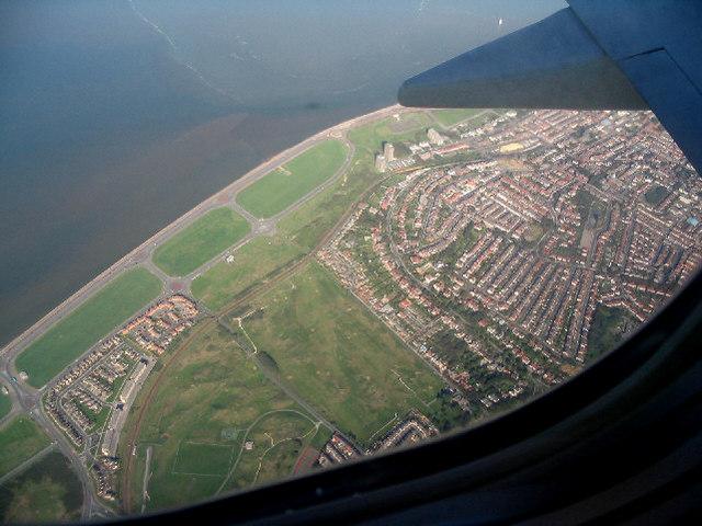 Aerial photo of New Brighton