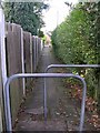 SE1738 : Footpath leading off Thackley Road by Betty Longbottom