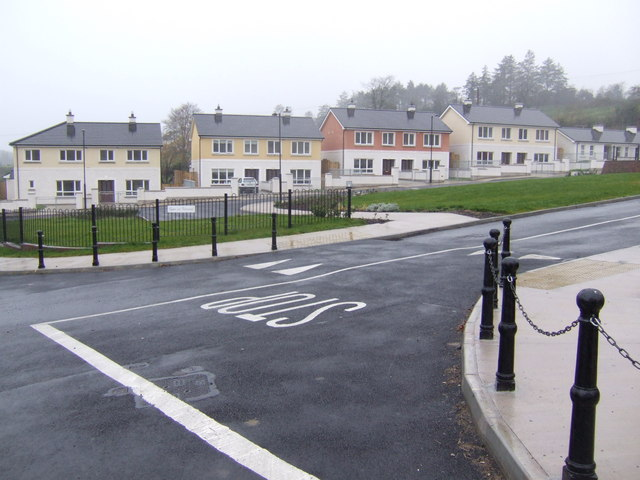 New housing at Knockacullion, Co. Monaghan
