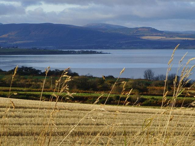 Stubble field near Allerton, Black Isle
