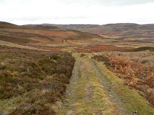 Track near Riemore Hill