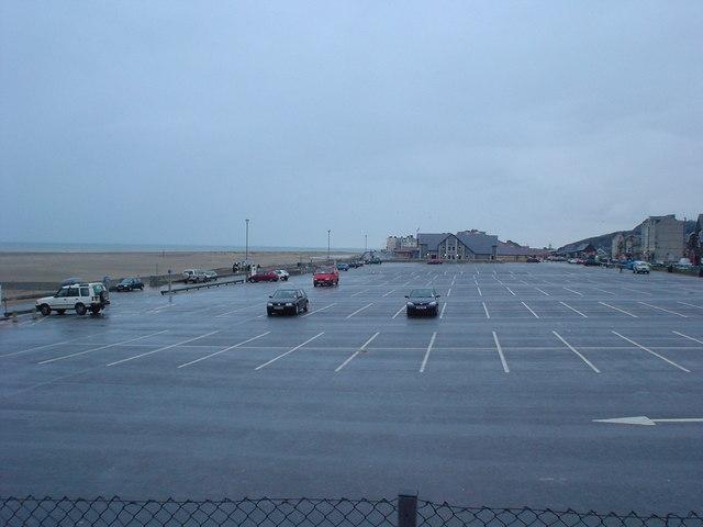 Seafront car park, Barmouth