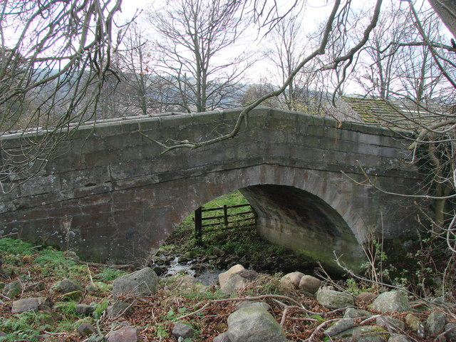 The Old Bridge over Bradley Beck