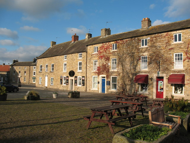 Masham Market Place - North side
