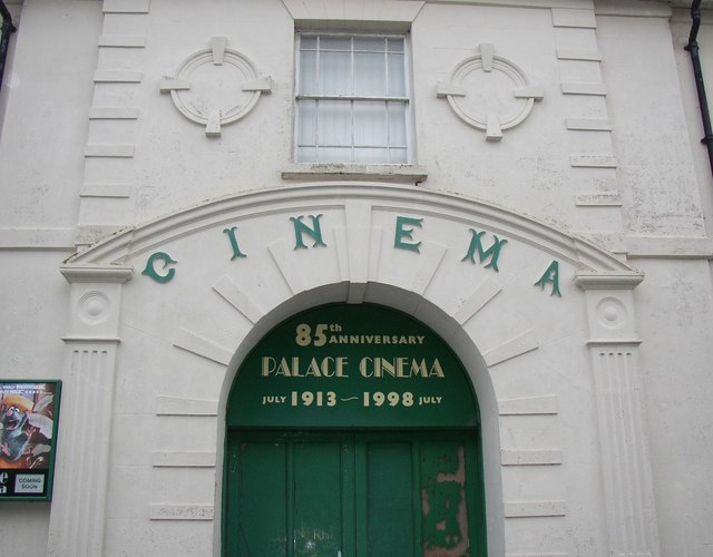 Entrance to the Palace Cinema, Hill Street / Upper Market Street, Haverfordwest
