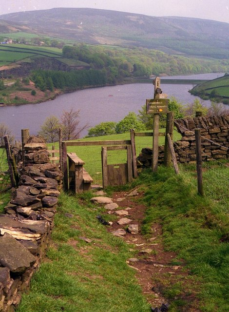 Padfield - A stile with a view