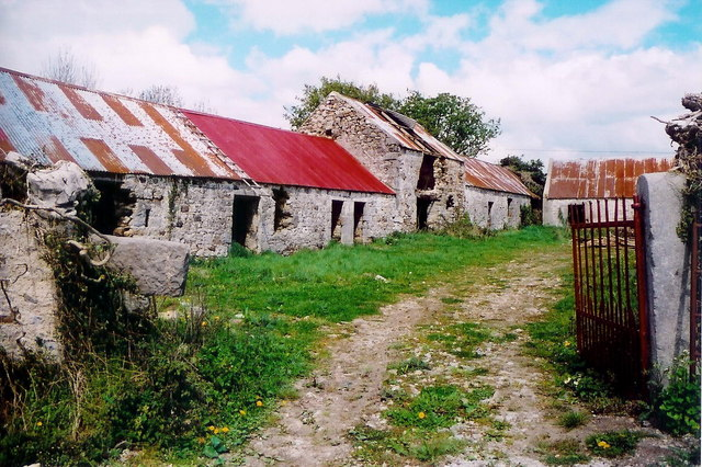 Farmyard at Maghernacloy, Co. Monaghan