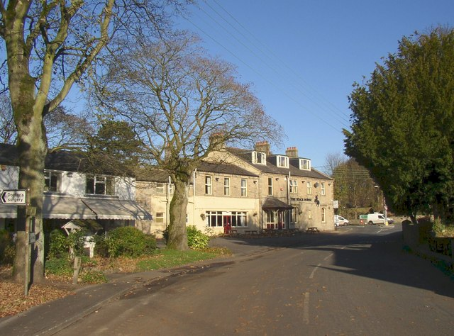 The Black Horse Hotel, The Green, Hellifield