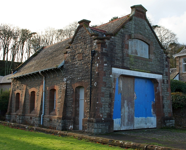 Old Lifeboat Station at Quarry Green, Campbeltown