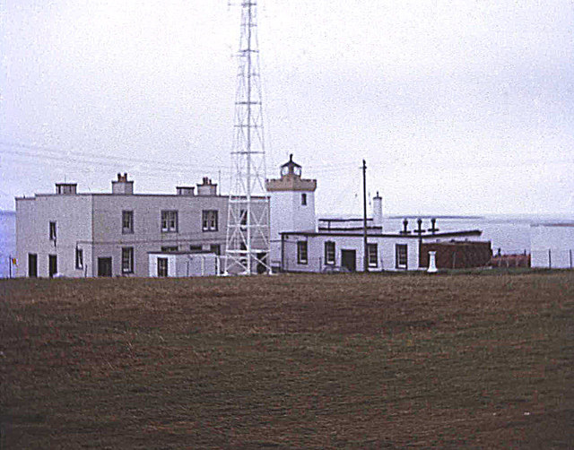 Duncansby Head Lighthouse in 1974