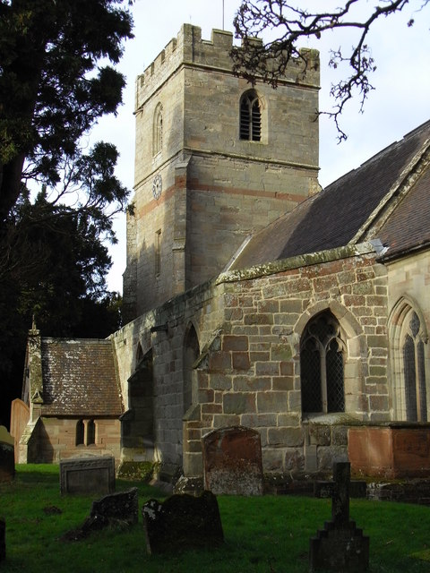 St Michael's and All Angels Church, Salwarpe.